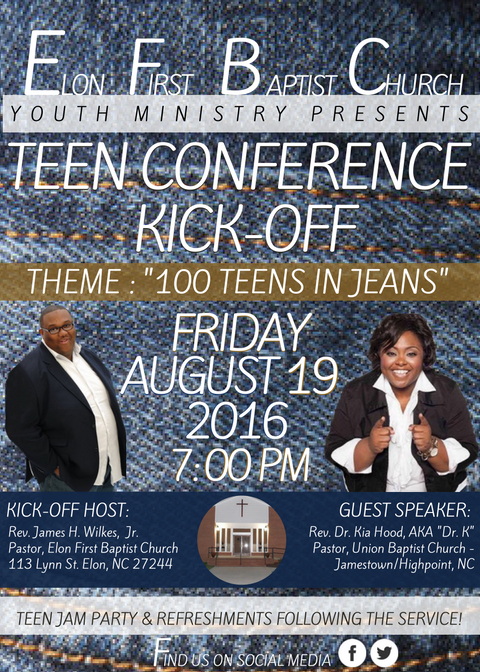 Youth Conference Flyer 2016