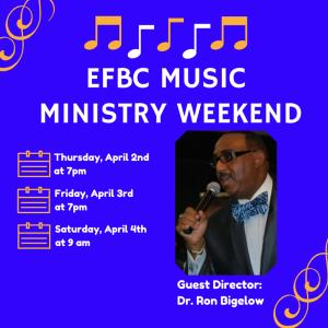 EFBC Music Ministry Weekend
